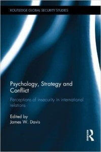 Psychology Strategy and Conflict cover