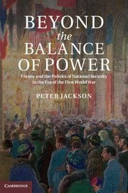 Beyond the Balance of Power cover