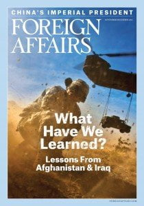 Foreign Affairs November/December 2014 cover