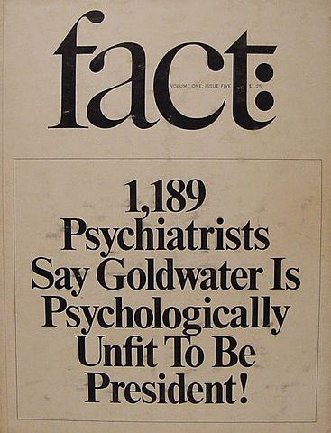 Fact Magazine-Goldwater cover