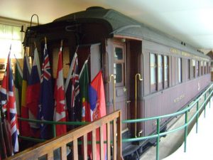 Replica of Armistice railcar
