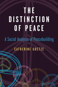 The Distinction of Peace cover